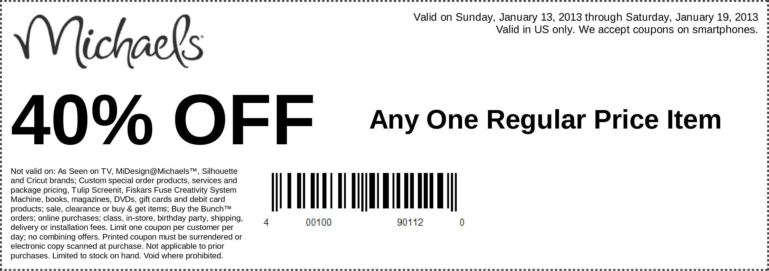 Kirklands coupons december 2013 - Michaels Coupon