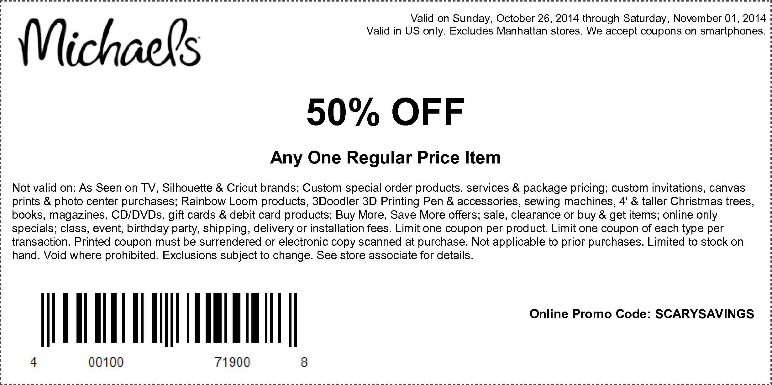 october 30 retail roundup - michaels, famous footwear, old navy